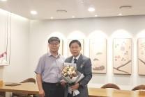 송영욱 교수님 제 39회(2020년도) 스승의날 유공 교원 대통령 표창 수상
